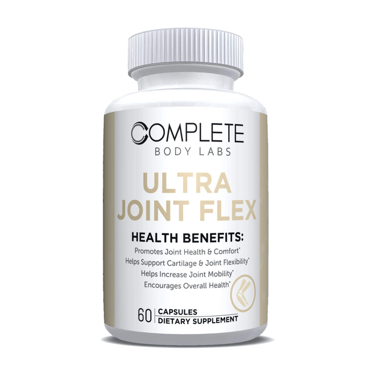 ULTRA JOINT FLEX Complete Body Labs | Probiotics, Nootropics, Brain Supplements, Protein Bars, Workout Supplements, Health Supplements, Omega-3 & Essential Vitamins For Men & Women