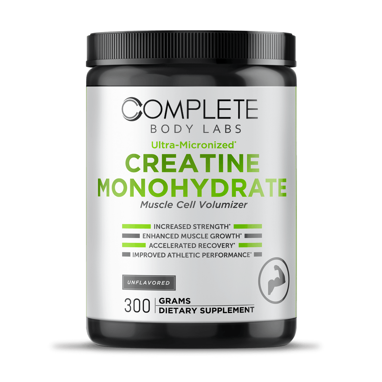 Ultra-Micronized CREATINE MONOHYDRATE (Muscle Cell Volumizer) Complete Body Labs | Probiotics, Nootropics, Brain Supplements, Protein Bars, Workout Supplements, Health Supplements, Omega-3 & Essential Vitamins For Men & Women