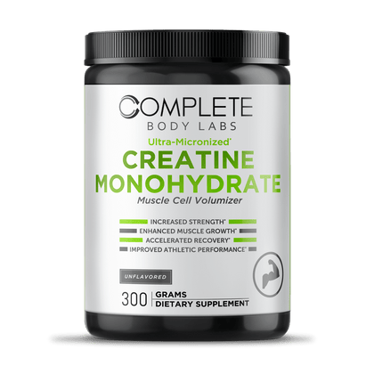 Ultra-Micronized CREATINE MONOHYDRATE (Muscle Cell Volumizer)