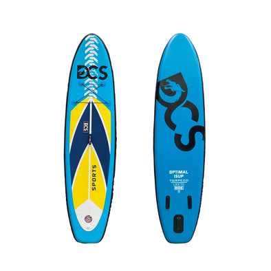 "OPTIMAL YELLOW 10'6"" SUP Board Package - Air Track"
