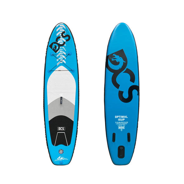 "OPTIMAL WHITE 10'6"" SUP Board Package - Air Track"