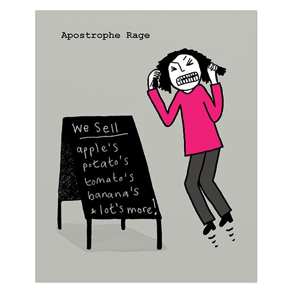 Really Good Apostrophe Rage Card