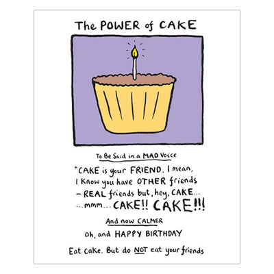 The Power Of Cake