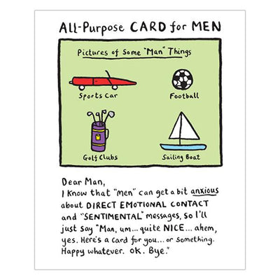 Really Good All Purpose Card For Men
