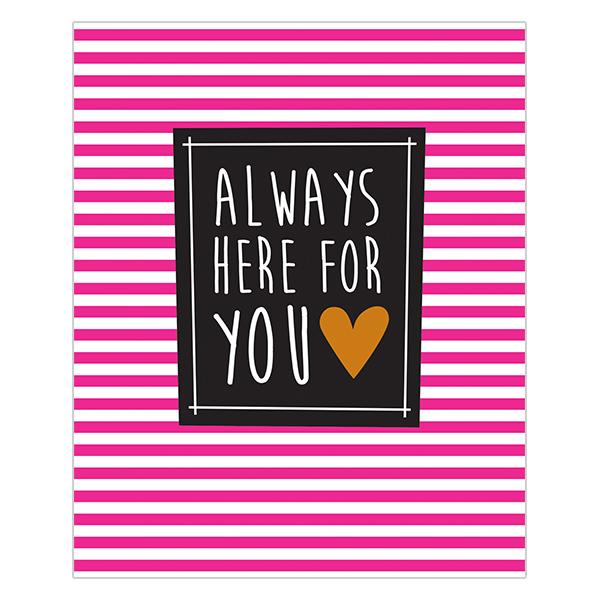 Really Good Always Here For You Card