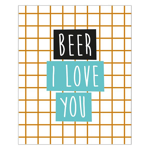 Really Good Beer I Love You Card