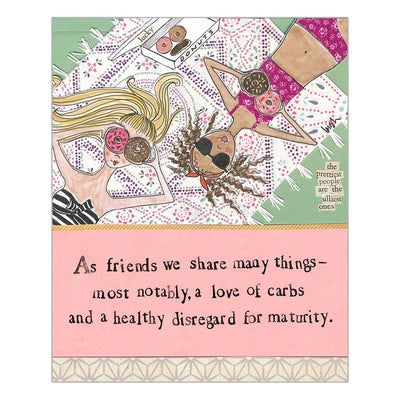 Really Good As Friends We Share Many Things Card