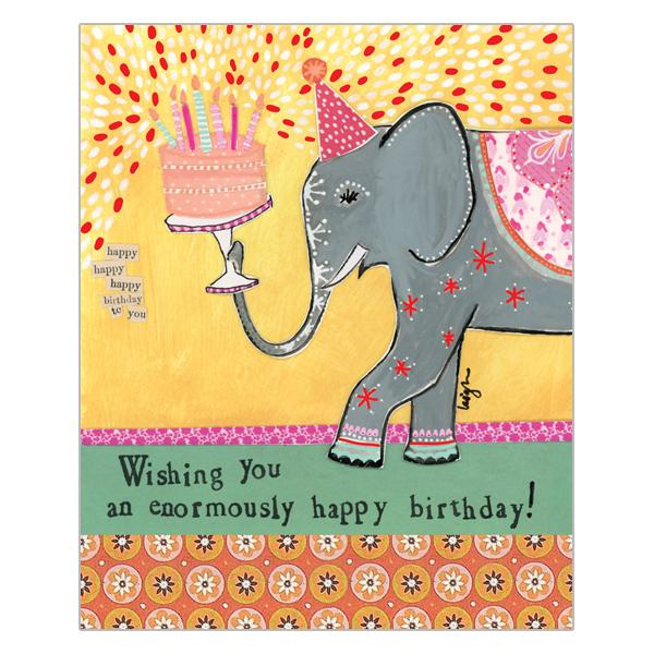 Soul Wishing You An Enormously Happy Birthday Card