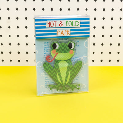 Hot & Cold Pack - juvenile frog.  TICKG09