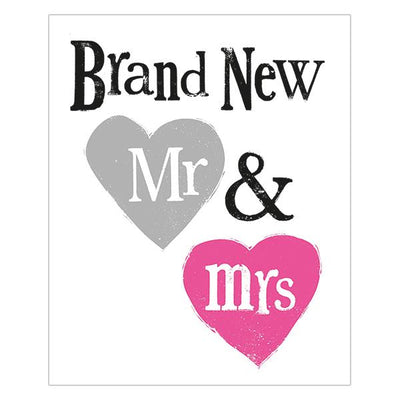 The Bright Side Brand New Mr & Mrs Card