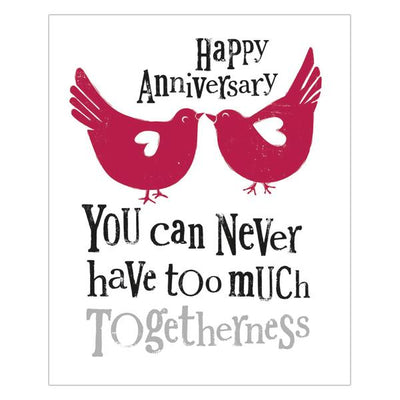 The Bright Side Happy Anniversary Much Togetherness Card
