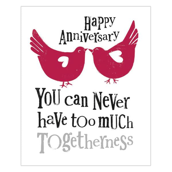 Happy Anniversary Much Togetherness