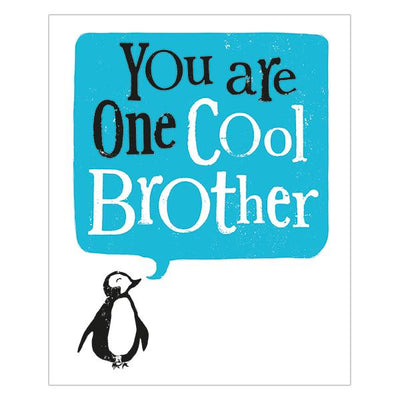 The Bright Side You Are One Cool Brother Card