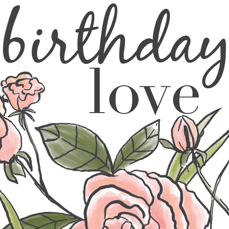 Birthday Love Roses Card by Soul