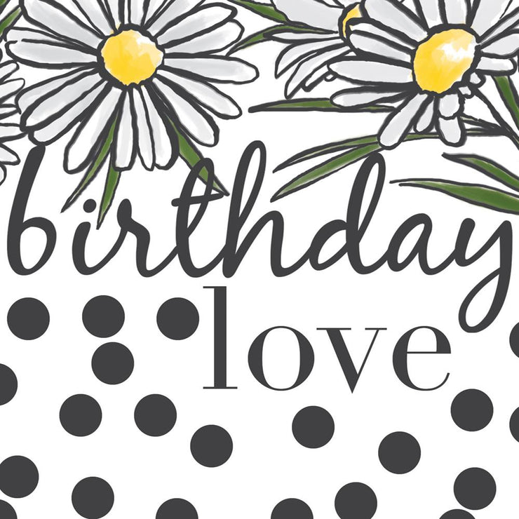 Birthday Love Daisies Card by Soul