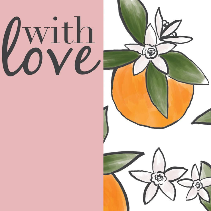 With Love Oranges Card by Soul