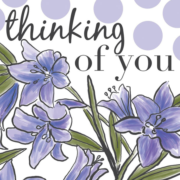 Thinking Of You Spots And Flowers
