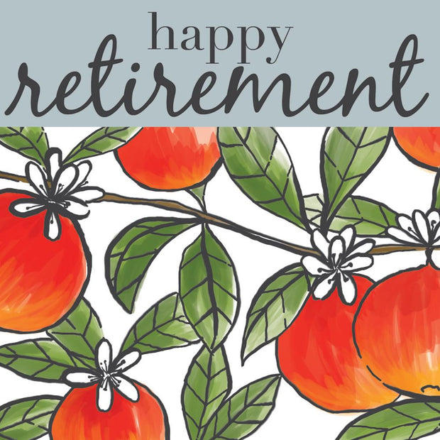 Happy Retirement Fruit