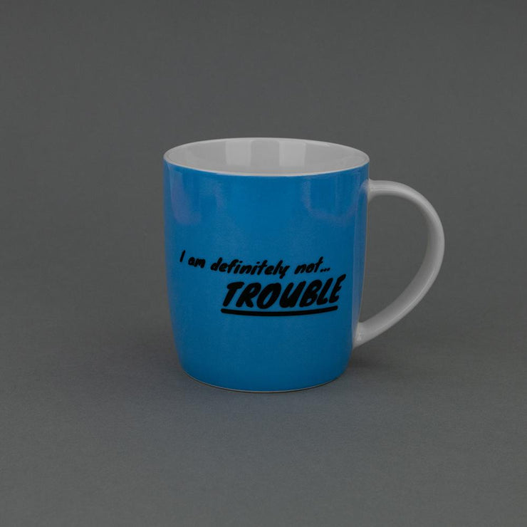 I Am Definitely Not Trouble Mug