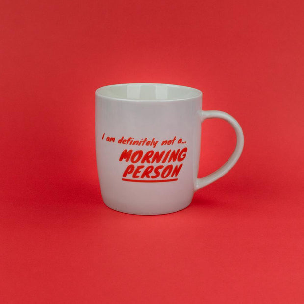 I Am Definitely Not A Morning Person Mug - AMIG14