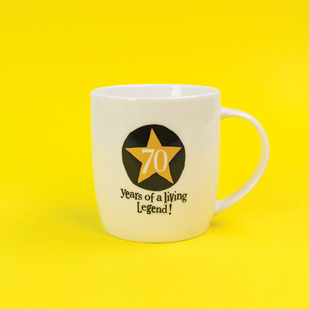 The Bright Side Milestone 70th Mug - BSHHC59