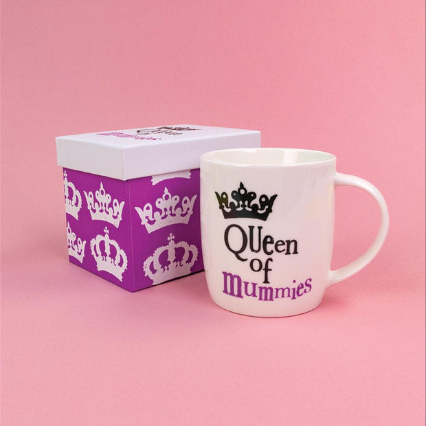 Queen Of Mummies Mug - BSHHC49
