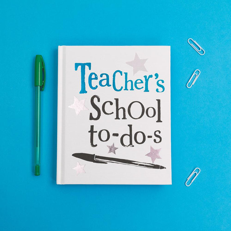 Important Teacher Notes Notebook - BSNB45