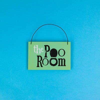 Poo Room Sign - BSHHW153