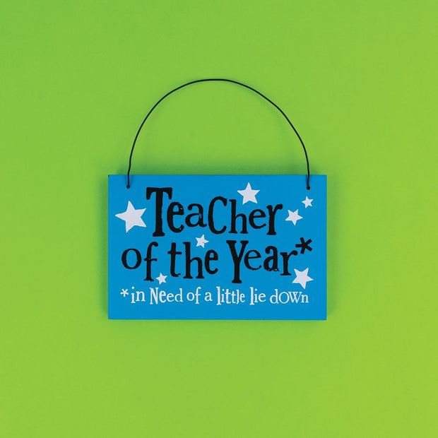 Teacher Of The Year - BSHHW155