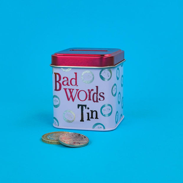 Bad Words Mini Money Box