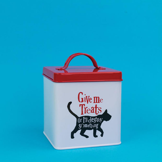 Give Me Treats Cat Tin