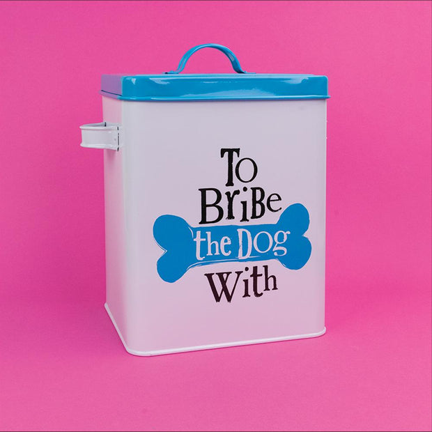 The Bribe The Dog With Treats Tin - BSHHM34