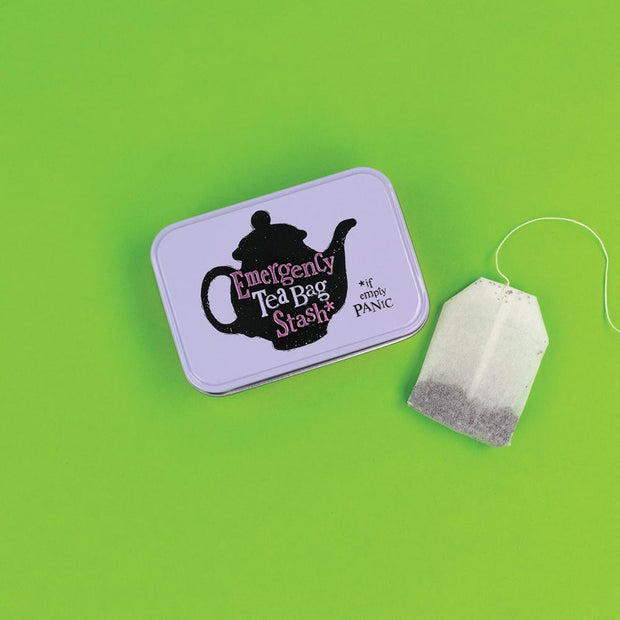 Really Good Emergency Tea Bag Stash Tin
