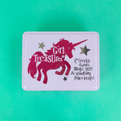 Girl Treasure Tin