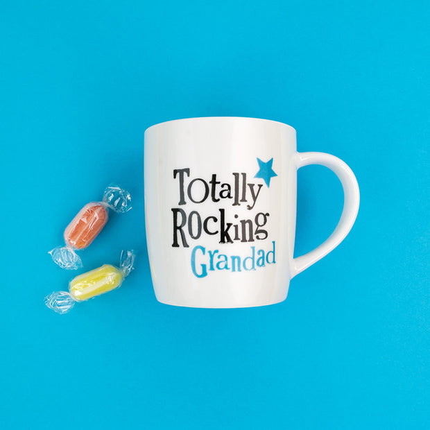Totally Rocking Grandad Ceramic Mug - BSHHC44