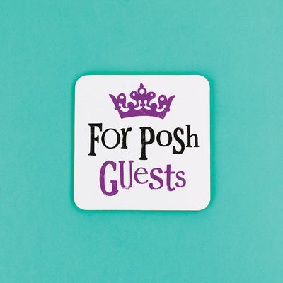 For Posh Guests Coaster - BSHHW117