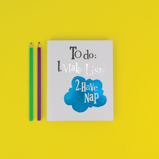 Make List Have Nap Note Book - BSNB37