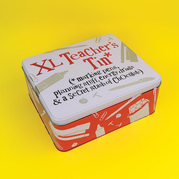 XL Teacher's Tin - BSTIN128