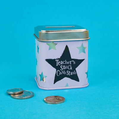 Teachers Snack Mini Money Box - BSTIN138
