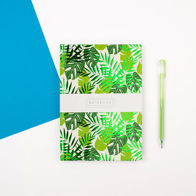 Wendy Jones Blackett A5 Botanical Notebook - WJNBL01