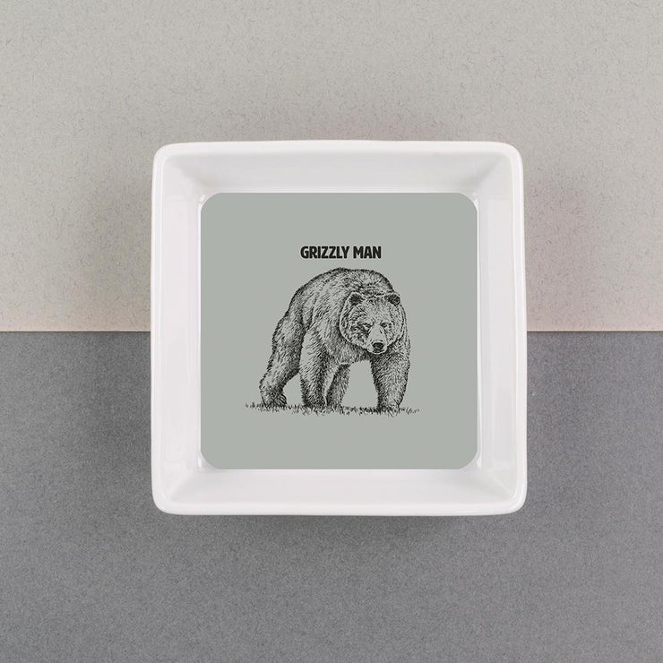 Grizzly Man Dish - FBDISH04