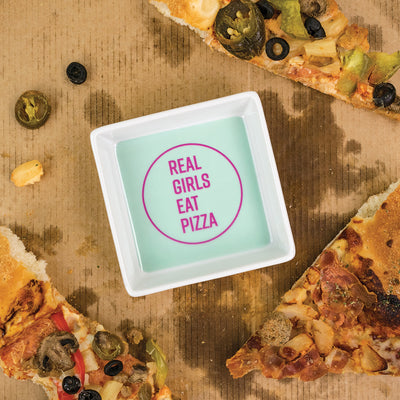 Real Girls Eat Pizza Dish