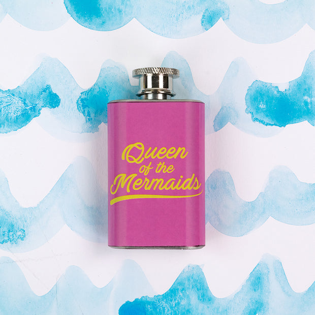 Queen Of Mermaids Shot Flask