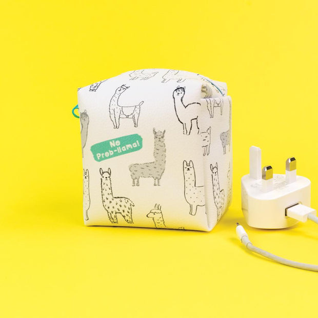 Really Good No Prob-Llama Zipped Case Small