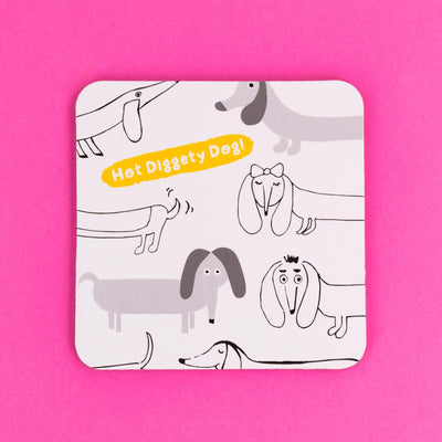 Hot Diggety Dog Coaster