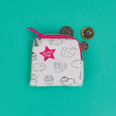 Grinny Pig Tiny Purse - GSG01