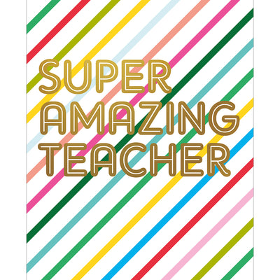 Super Amazing Teacher - HOW23