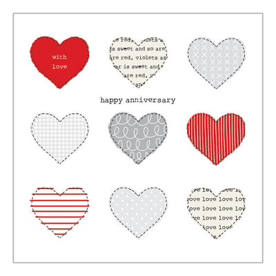 Happy Anniversary Hearts - IM34