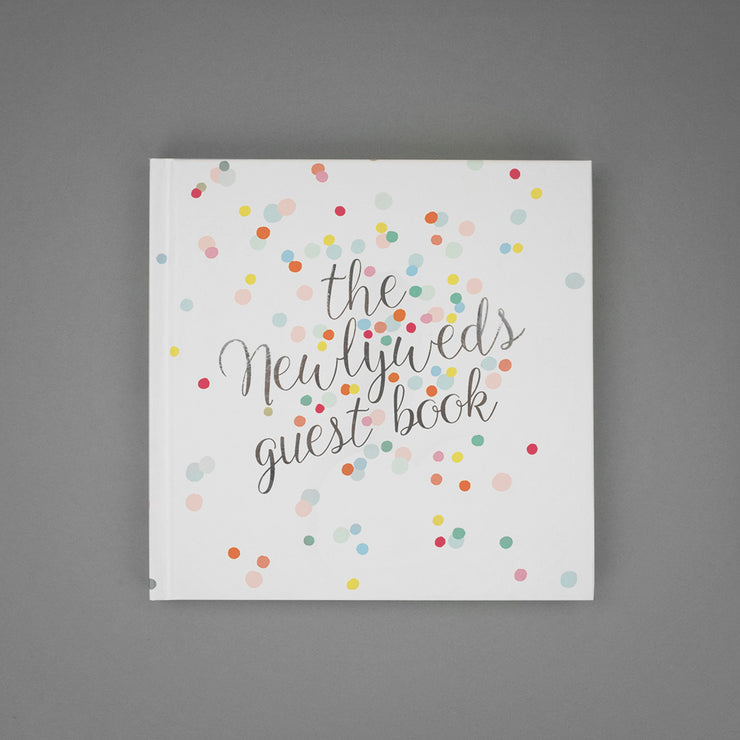 The Newlyweds Guest Book Notebook by Soul Cover