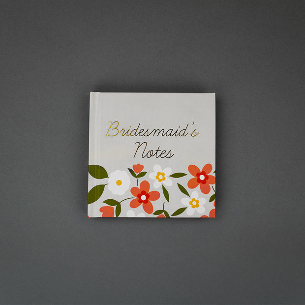 Bridesmaids Notes Mini Notebook by Soul